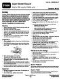 Toro 51593 Super Blower/Vacuum Manual, 2007-2009 page 1
