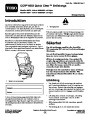 Toro CCR 6053 Quick Clear 38576 38577 Snow Blower Operators Manual, 2008 – Swedish page 1