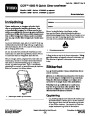 Toro CCR 6053 R Quick Clear 38567 38569 Snow Blower Operators Manual, 2011 – Norwegian page 1