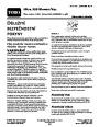 Toro 51569 Ultra 350 Blower Manual, 2006-2007 – Czech page 1