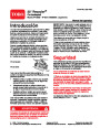 Toro 20008 22-Inch Recycler Lawn Mower Operators Manual, 2004 – Spanish page 1