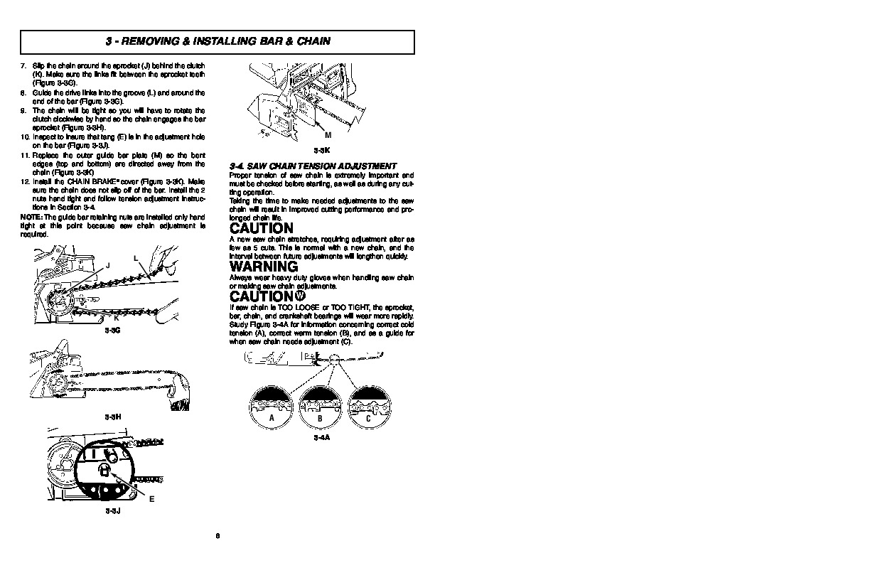 Mcculloch timberbear tm502 chainsaw owners manual mcculloch timberbear tm502 chainsaw owners manual page 8 biocorpaavc