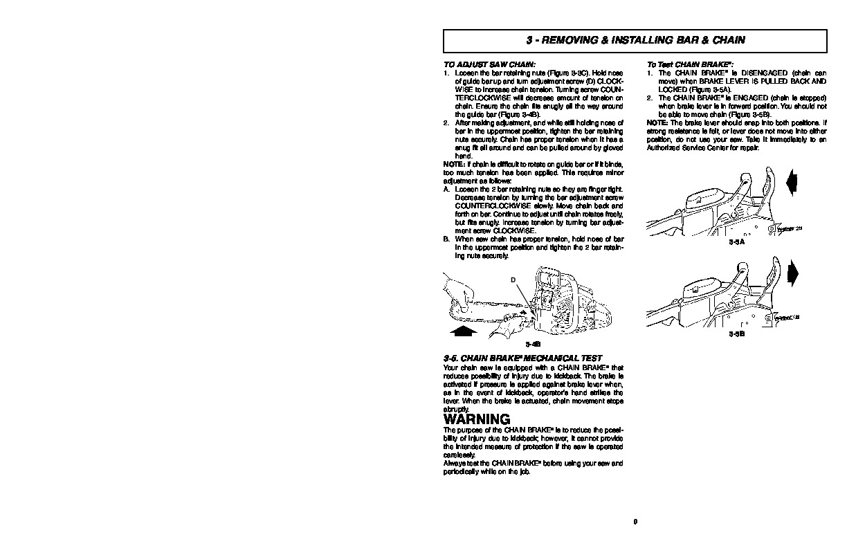 Mcculloch timberbear tm502 chainsaw owners manual mcculloch timberbear tm502 chainsaw owners manual page 9 biocorpaavc