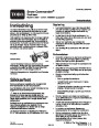 Toro Snow Commander 38601 Snow Blower Operators Manual, 2004 – Norwegian page 1