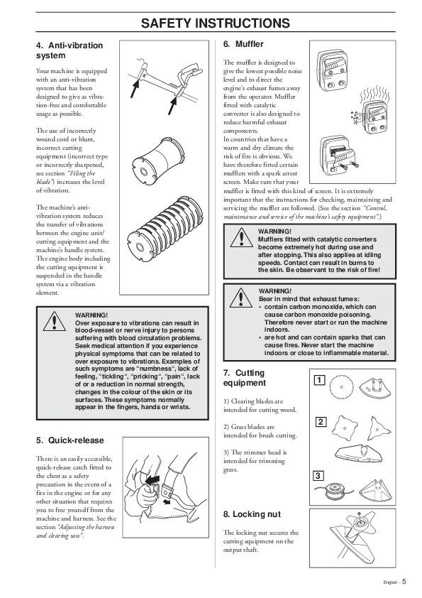Husqvarna 225rj Manual