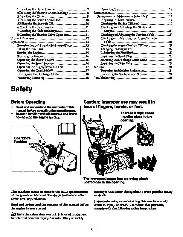 toro 37772 power max 826 oe snowblower manual  2013