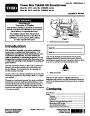 Toro 37775 Power Max 724 OE Snowblower Manual, 2015 page 1