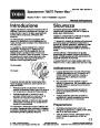 Toro Power Max 726TE 38611 Snow Blower Operators Manual, 2005 – Italian page 1