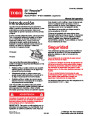 Toro 20014 22-Inch Recycler Lawn Mower Operators Manual, 2003 – Spanish page 1