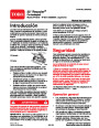 Toro 20019 22-Inch Recycler Lawn Mower Operators Manual, 2003 – Spanish page 1
