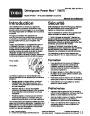 Toro Power Max 726TE 38611 Snow Blower Operators Manual, 2005 – French page 1