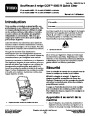 Toro CCR 6053 R Quick Clear 38567 38569 Snow Blower Operators Manual, 2011 – French page 1