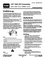 Toro CCR 2450 GTS 38535 Snow Blower Operators Manual, 2007 – German page 1